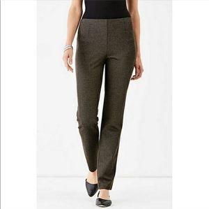 J. Jill Ponte Slim Leg Stretch Pant Skinny Trouser